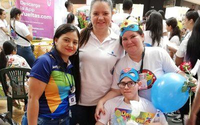SuperGIROS presente en amor a la discapacidad y sus cuidadores.